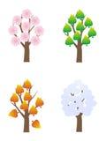 Quatre saisons image stock
