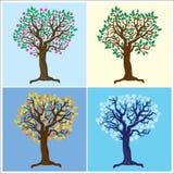 Quatre saisons Photo libre de droits
