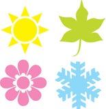 quatre saisons Image libre de droits