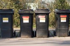 Quatre tonnes de déchets organiques Photos stock