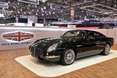 quatre-vingt-dix-huitième Salon de l'Automobile international de Genève 2018 - David Brown Speedback GT Photo stock
