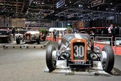 quatre-vingt-dix-neuvième Salon de l'Automobile international de Genève - DEVINCI DB718 images stock