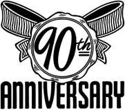 quatre-vingt-dixième anniversaire Photographie stock