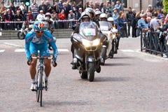 quatre-vingt-treizième d'Italia de chèques postaux (excursion de l'Italie) - faisant un cycle Photo libre de droits