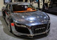 quatre-vingt-troisième Genève Motorshow 2013 - MTM Audi R8 V10 Biturbo Photos stock