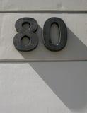 Quatre-vingts ombres Photos stock