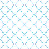Quatrefoil classic net pattern. Royalty Free Stock Image
