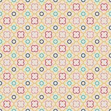 Quatrefoil Lattice Pattern stock illustration