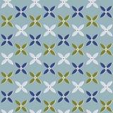Quatrefoil-Muster Stockbild