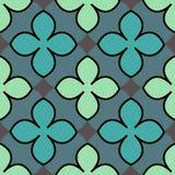 Quatrefoil-Muster Stockbilder
