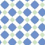 Quatrefoil-Muster Lizenzfreies Stockbild
