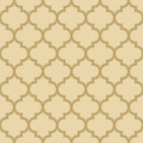Quatrefoil pattern with outlines Royalty Free Stock Photos