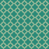 Quatrefoil pattern of outlines Royalty Free Stock Photo