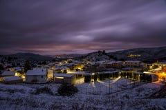 Quatretondeta, Alicante, Espagne Photographie stock