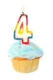 Quatrième anniversaire Photo stock