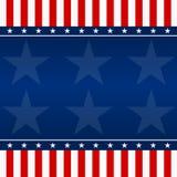 Quatrième de fond Amérique - illustration de juillet Photographie stock libre de droits
