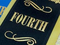 Quatrième finition d'endroit Image libre de droits