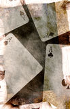 Quatro ás ilustração stock