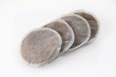 Quatro almofadas do café Foto de Stock