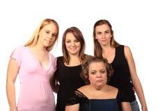 Quatro amigos Fotografia de Stock