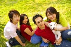 Quatro amigos Imagem de Stock