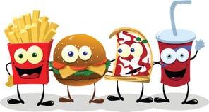 Quatro amigos felizes Imagem de Stock