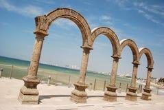 Quatro arcos de pedra Fotografia de Stock