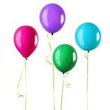 Quatro balões imagem de stock