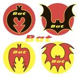 Quatro bastões dos ícones Foto de Stock