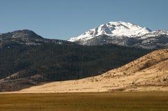Quatro camadas da paisagem Fotografia de Stock Royalty Free
