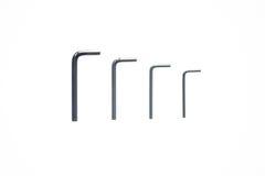 Quatro chaves de Allen Imagem de Stock