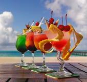 Quatro cocktail Imagem de Stock