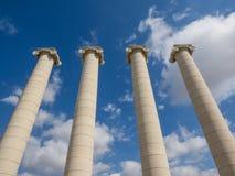Quatro colunas Fotos de Stock Royalty Free