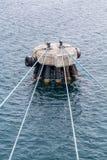 Quatro cordas à pilha concreta Fotos de Stock