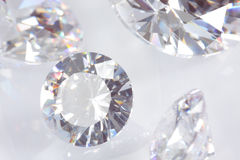 Quatro diamantes Fotos de Stock Royalty Free