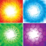 Quatro elementos Imagem de Stock