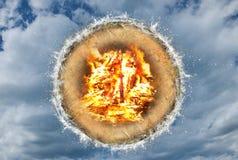 Quatro elementos, composição Foto de Stock Royalty Free