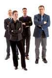 Quatro executivos fotos de stock royalty free