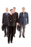 Quatro executivos fotografia de stock royalty free