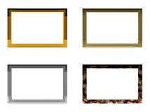 Quatro frames Ilustração Stock