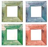 Quatro frames de retrato Fotos de Stock
