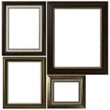 Quatro frames de retrato antigos Imagens de Stock Royalty Free