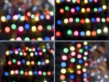 Luzes abstratas da cor Fotografia de Stock Royalty Free