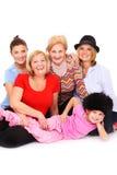 Quatro gerações Fotos de Stock Royalty Free