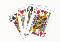 Quatro jaques imagens de stock royalty free