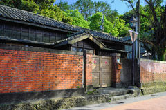 Quatro juntados da residência do Japonês-estilo do museu do ouro, o governo municipal novo de Taipei no distrito de Ruifang, cida Imagem de Stock Royalty Free