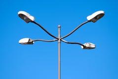 Quatro lâmpadas de rua Fotografia de Stock