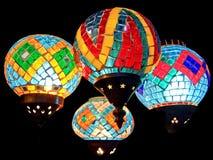Quatro lanternas Fotografia de Stock
