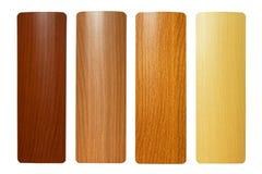Quatro madeiras imagem de stock