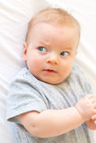 Quatro meses de bebê idoso Fotos de Stock Royalty Free